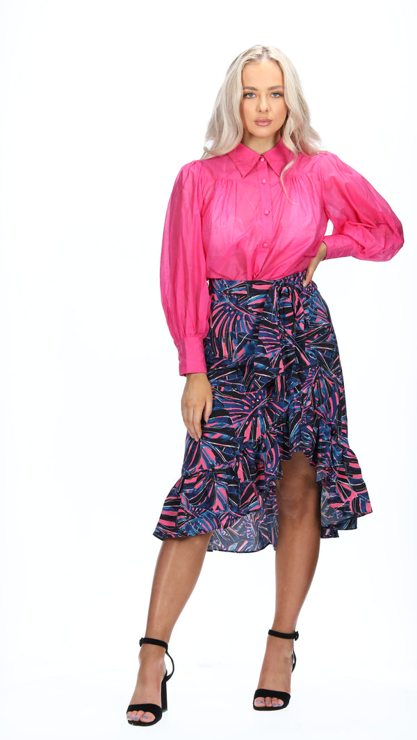 LEAH SKIRT - PALM