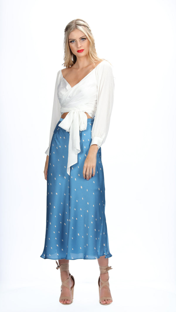 JANA SKIRT - SEA BLUE