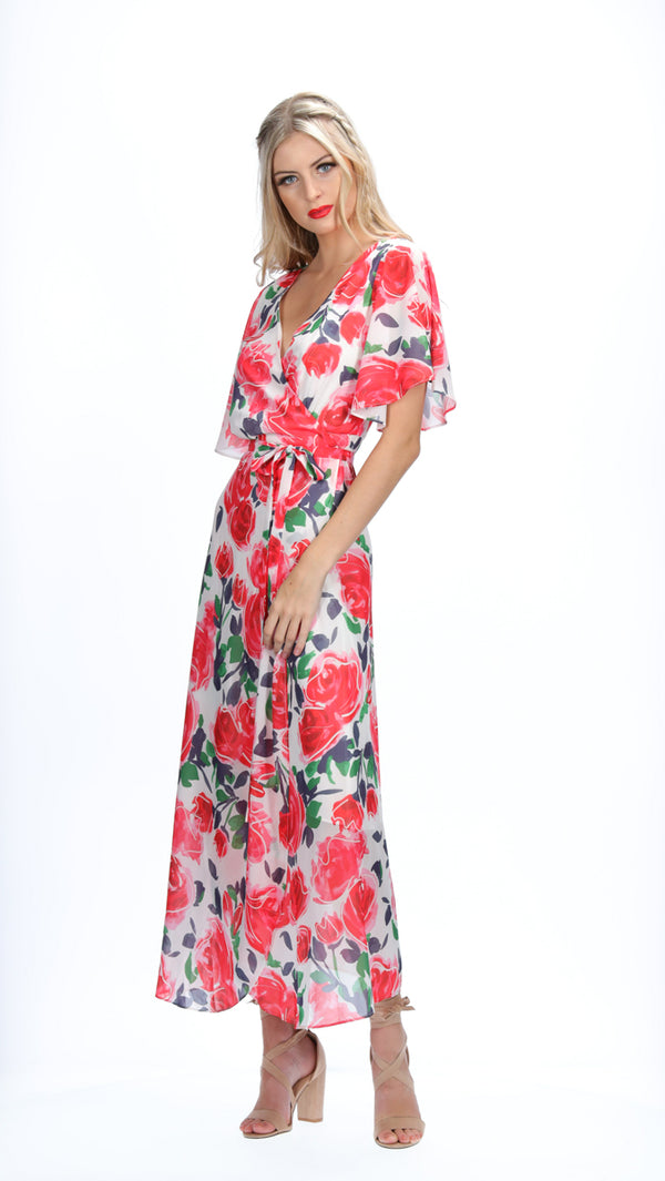 MIA DRESS - ROSE GARDEN