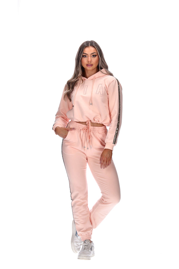 GRACE TRACKIES - BLUSH PINK