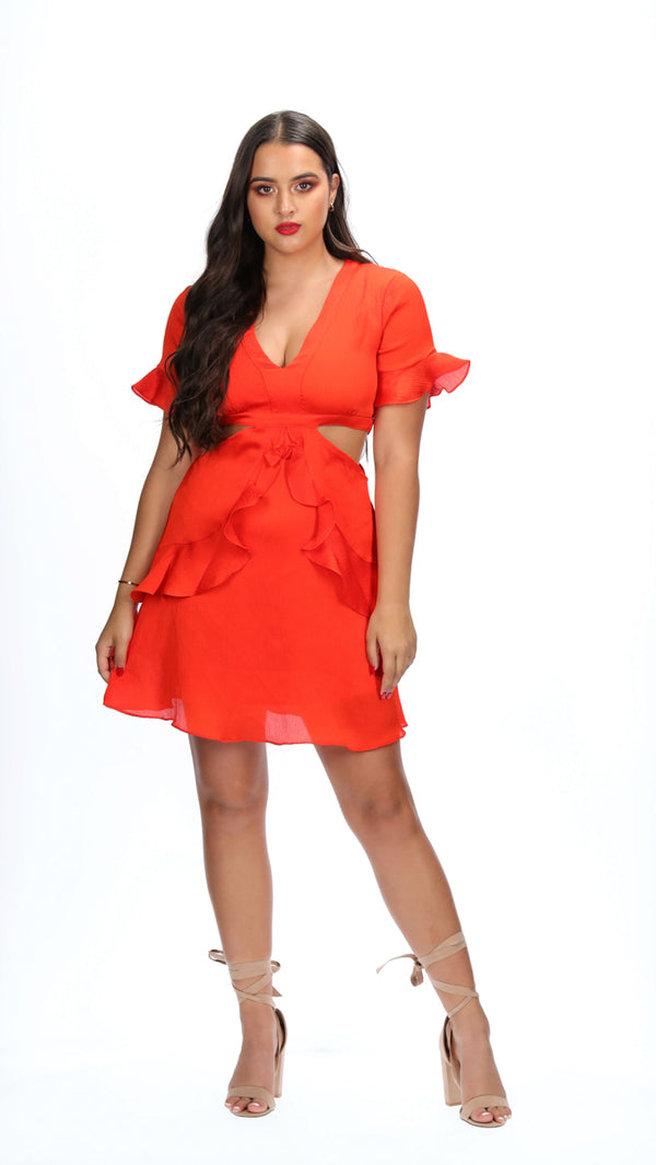 RYLEE DRESS - RED