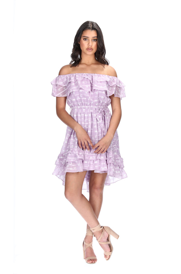 VERONICA DRESS - LILAC HEARTS