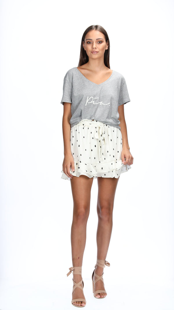 ASHER TEE GREY - PIA