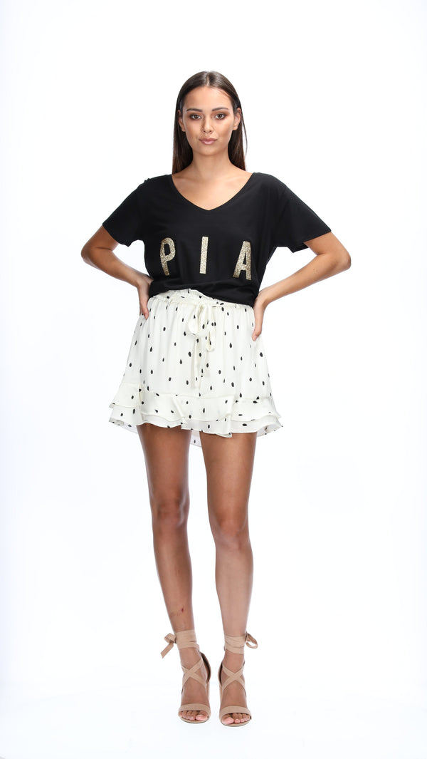 ASHER TEE - PIA GOLD
