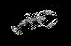 Lobster Pins And Brooches - Shungite Mountain