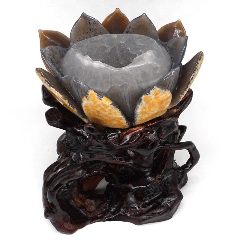Crystal Butterfly Statue - Shungite Mountain