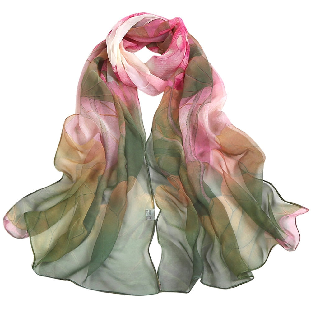 Women's Long Soft Wraps And Scarfs - Shungite Mountain