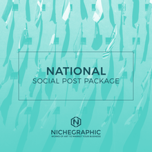 Load image into Gallery viewer, National Days Social Post Pack