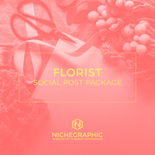 Load image into Gallery viewer, Florist Social Post Pack