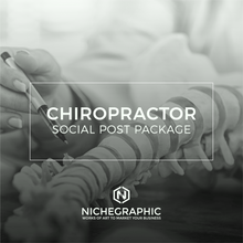 Load image into Gallery viewer, Chiropractic Social Post Pack