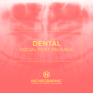 Dental Social Post Pack