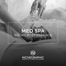 Load image into Gallery viewer, Med Spa Social Post Pack