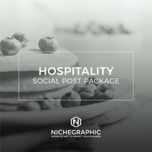 Load image into Gallery viewer, Hospitality Social Post Pack