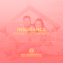 Load image into Gallery viewer, Insurance Social Post Pack