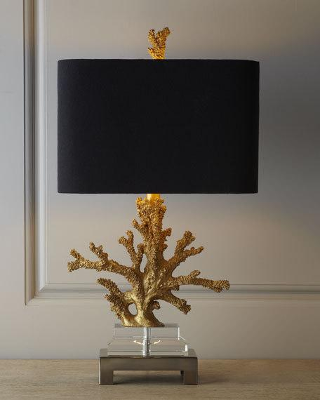 """Gold Coral"" Lamp - TropicaZona"