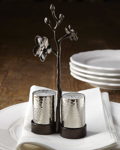 """Black Orchid"" Salt & Pepper Set - TropicaZona"