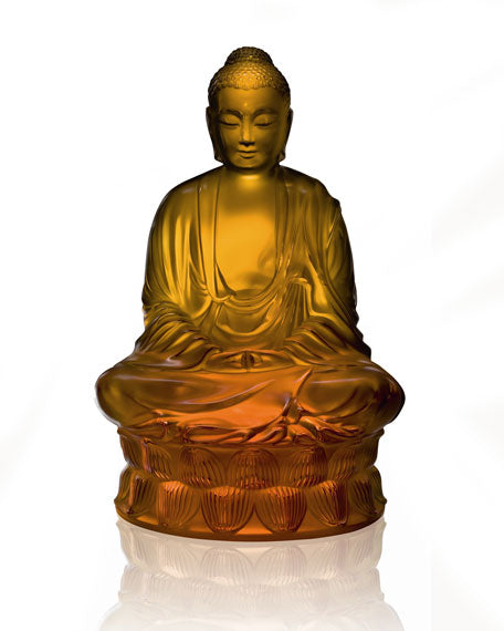 Amber Buddha Figure - TropicaZona