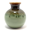 "Celadon Ceramic Vase, 4"" High - TropicaZona"