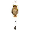 One Owl Coconut Shell Mobile, Hanging Mobile & Hanging Décor - TropicaZona