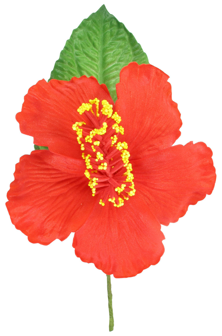 Artificial Hibiscus Foam Flower Corsage, Small Bouquet - TropicaZona