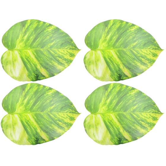 Pothos Vine Leaf Foam Placemats, 4-Pack - TropicaZona