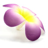 Floating Plumeria (Frangapani) Foam Flowers, 10-Pack, Purple - TropicaZona