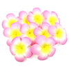 Floating Plumeria (Frangapani) Foam Flowers, 10-Pack, Light Pink - TropicaZona