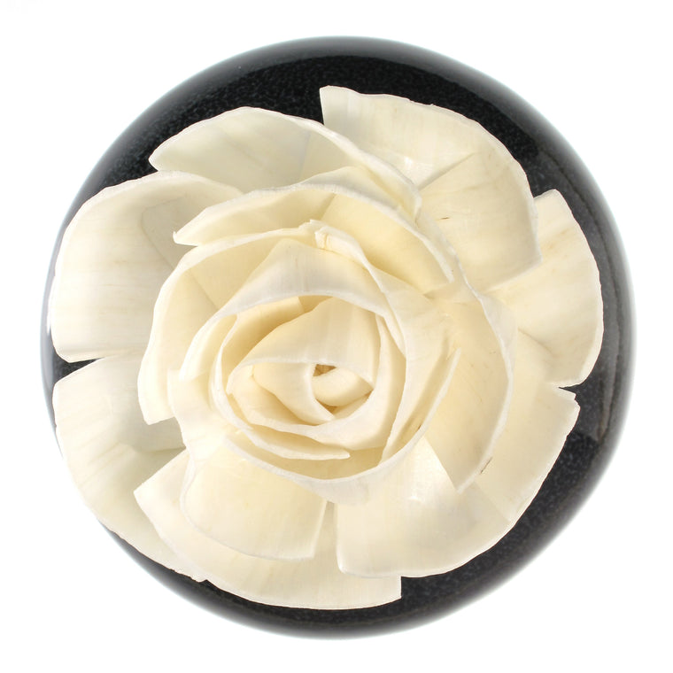 Sola Wood Flower Aroma Oil Diffuser with a Bendable Cotton Wire Wick, Peony - TropicaZona