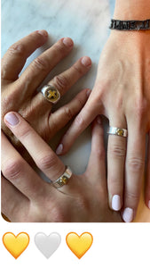 mother daughter rings