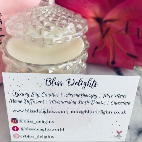 Bliss Delights Diamond Soy Candles