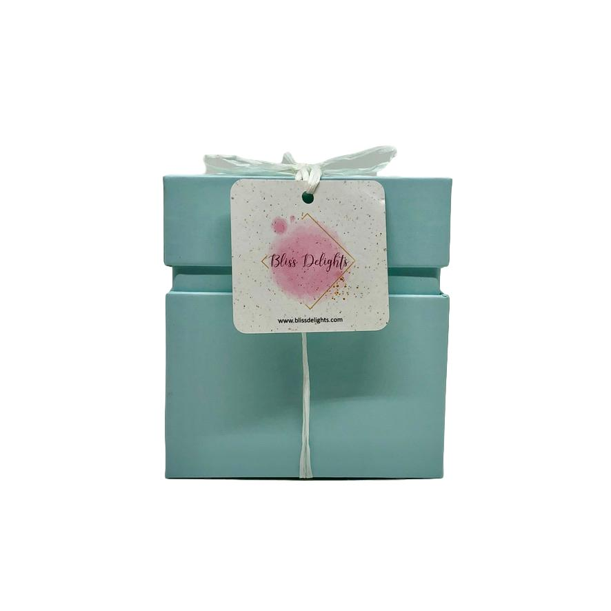 Bliss Delights Blue Candle Gift Box | Eco-Friendly Gifts