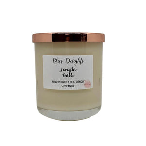 Bliss Delights Jingle Bells Christmas Candle | Cruelty-Free & Vegan