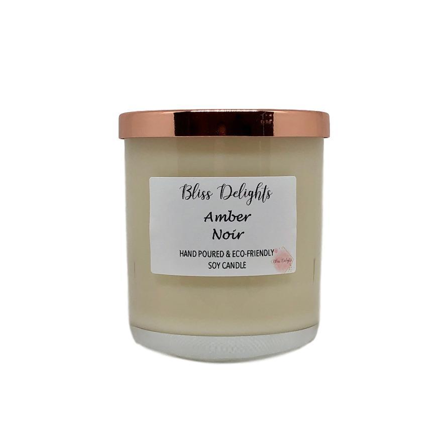 Amber Noir Scented Soy Candle