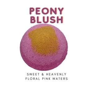 Stephanie Llanelli Cosmetics Luxury Peony Blush Bath Bomb