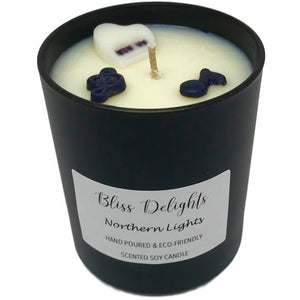 Scented Soy Candle Music Gift - Bliss Delights