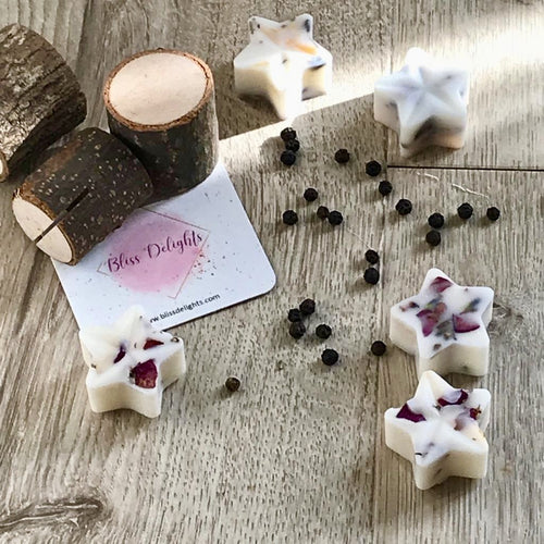 Bliss Delights Sandalwood & Black Pepper Soy Wax Melts | Eco-Friendly