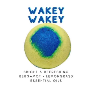 Bliss Delights x Stephanie Llanelli Cosmetics Wakey Wakey Bath Bomb
