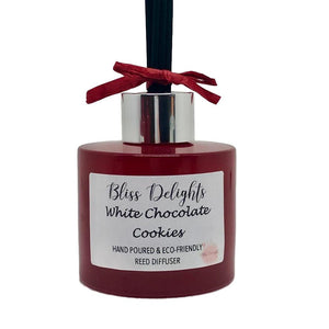 Bliss Delights White Chocolate Cookies Reed Diffuser | Christmas Reed