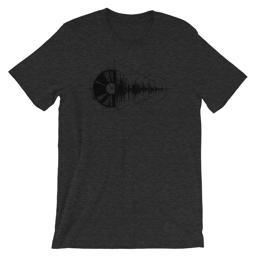 VINYL TO AUDIO T Shirt - Men's Summer Short Sleeves Top 2019