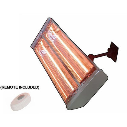 Dual Bulb Wall Mount Infrared Heat Lamp - Outdoorlivingsuites