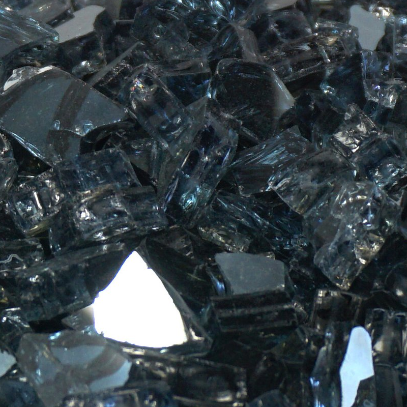 Gunmetal Gray Metallic Fireglass Crystals