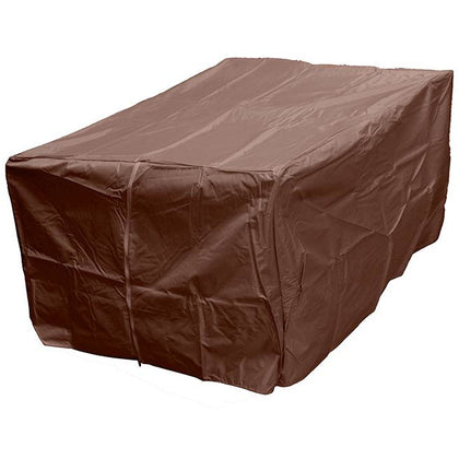 Hiland Heavy Duty Waterproof Rectangle Propane Fire Pit Cover HVD-1010-CVR-M - Outdoorlivingsuites