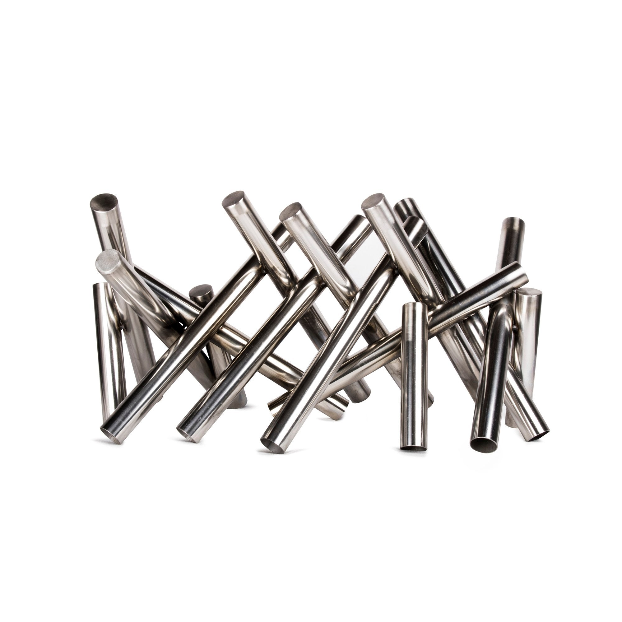 Polished Stainless Steel Logs
