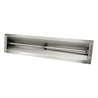 V-Trough Pan & Linear Burner - Outdoorlivingsuites