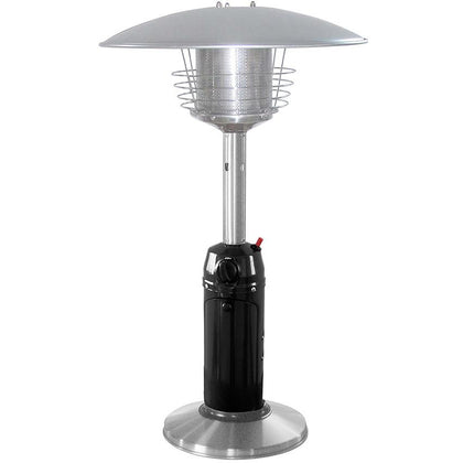 Outdoor Tabletop Patio Heater - Black & Stainless Steel Finish - Outdoorlivingsuites