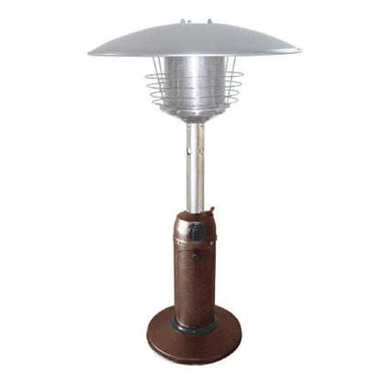 Outdoor Tabletop Patio Heater - Hammered Bronze Finish - Outdoorlivingsuites
