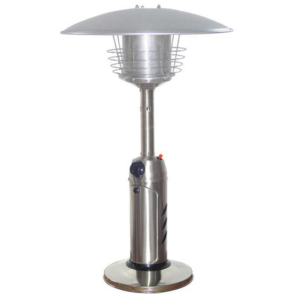 Outdoor Tabletop Patio Heater - Stainless Steel Finish - Outdoorlivingsuites