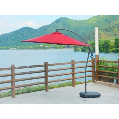 Lucy 10' Patio Cantilever Umbrella - Outdoorlivingsuites