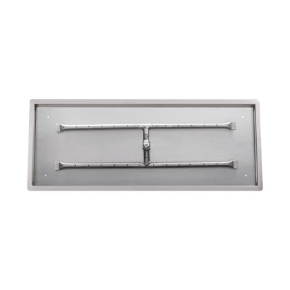 "Rectangular Drop-In Pan & ""H"" Burner - Outdoorlivingsuites"