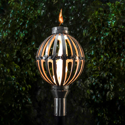 GLOBE FIRE TORCH - Outdoorlivingsuites